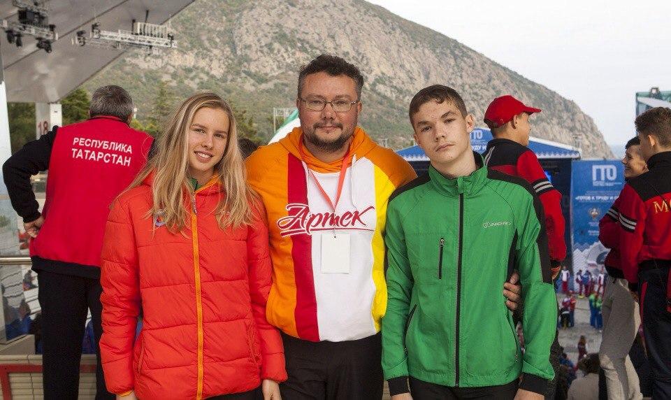 Варгашинцы приняли участие в летнем фестивале ГТО